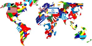 bangor student flag-map